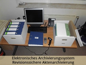 Revisionssichere Aktenarchivierung